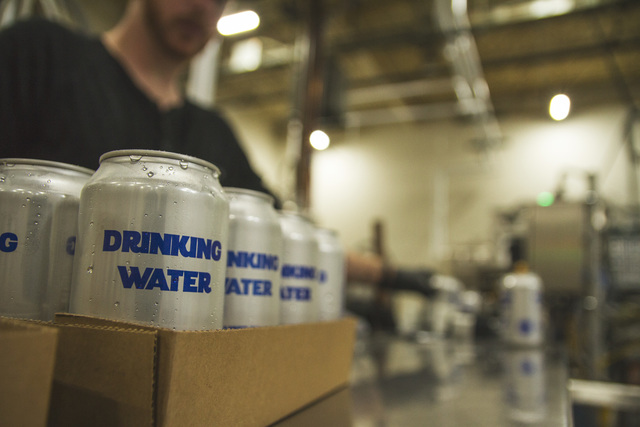 Oskar Blues pausing beer production to can drinking water for Texas