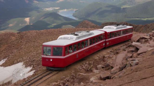 Pikes Peak Cog Railway Discover Colorado