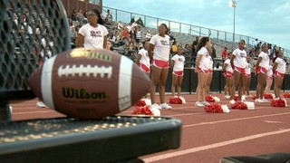 East HS cheerleading team goes back to work
