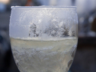 Leaving your home? Put a quarter on a frozen cup