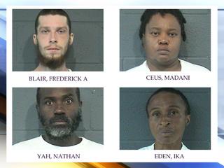 Authorities ID suspects in double homicide
