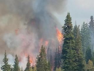 Deep Creek Fire: 4,112 acres, 39% contained