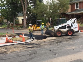 Wash Park West awash with curb ramp construction