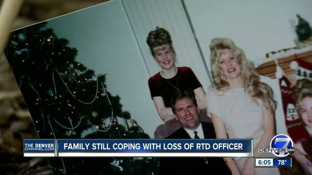 Family still coping with loss of RTD officer