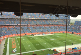 Broncos-Cowboys game resumes after weather delay