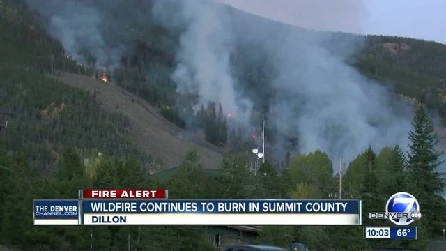 Wildfire sparks on Tenderfoot Mountain near Dillon- grows to 21 acres