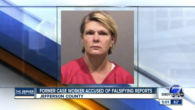 Former Jefferson County case worker accused of falsifying information in reports