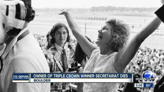 Penny Chenery- owner of Triple Crown champ Secretariat- dies in Colorado