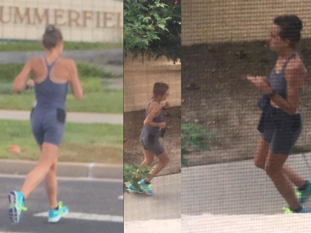 Jogger nicknamed 'The Mad Pooper' wanted for defecating in front yards