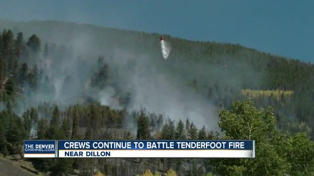Wildfire near Lake Dillon grows to 30 acres- crews gain upper hand