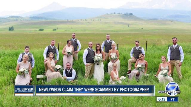Three Colorado brides say they were scammed by same wedding photographer