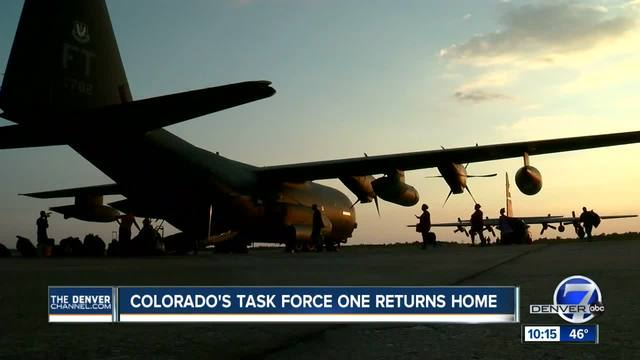 Colorado Task Force 1 returns home after back-to-back hurricanes