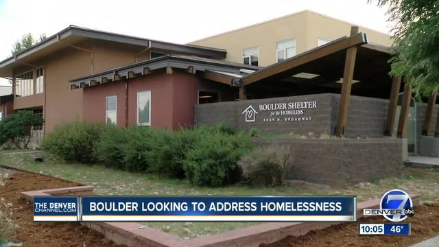 Boulder looking to address homelessness