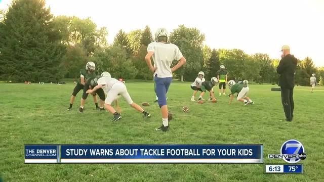 New research claims that tackle football before 12 leads to variety of…