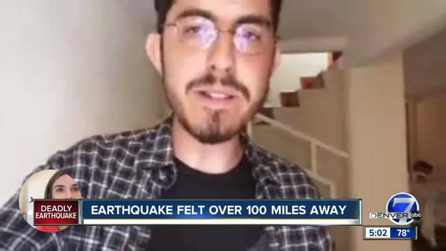Denver7 journalist recounts Mexico earthquake first-hand- fund set up…