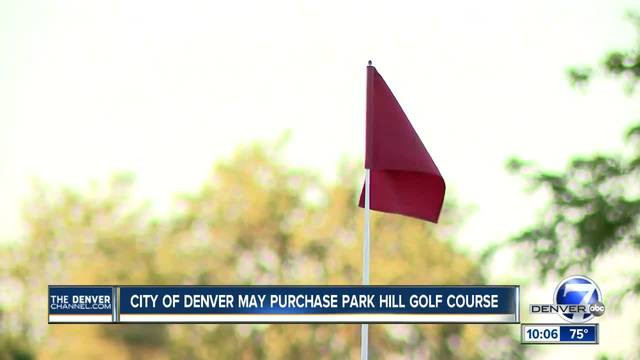 City of Denver may purchase Park Hill Golf Course