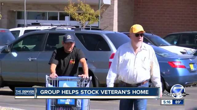 Vet gets home- shopping spree in one day