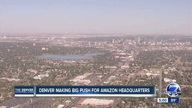 Colorado to narrow down one specific location for Amazon Headquarters