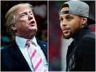 Trump disinvites Curry, LeBron James responds