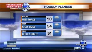 More 50s and showers to start the week