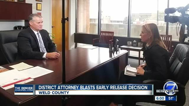 Weld County district attorney slams granting of parole for man convicted…