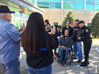 Paralyzed DougCO detective given wheelchair