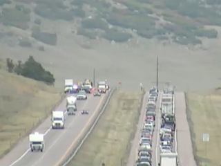 Body found off I-25 investigated as homicide