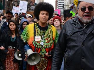 Parents upset after activist speaks at school
