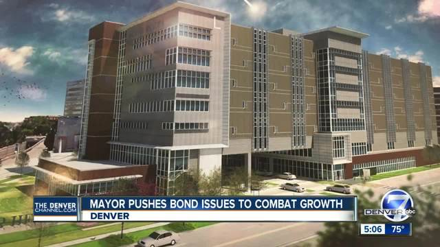 Denver Mayor Michael Hancock says referred bond issues relate to quality of life