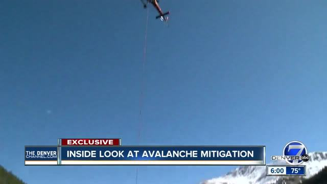 Denver7 crew gets exclusive look into CDOT-s avalanche mitigation process
