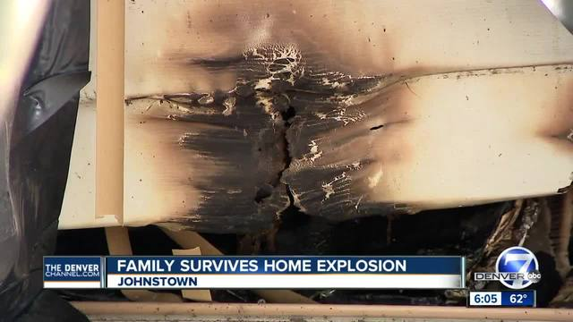 Johnstown family loses home after mysterious overnight explosion