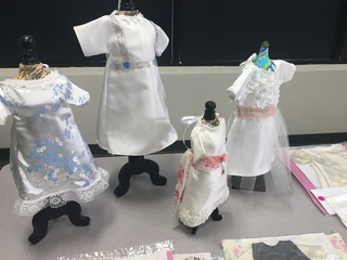 Wedding dresses turned into 'angel gowns'