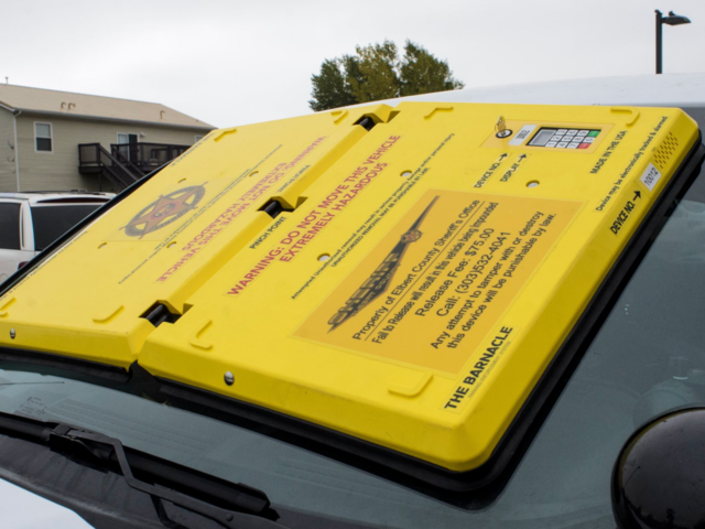 Out with the boot and in with the barnacle- New parking enforcement…