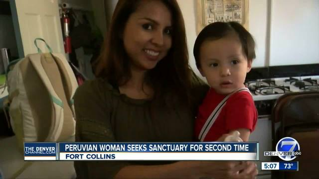 Ingrid LaTorre- facing deportation- seeks sanctuary in Colorado a second time
