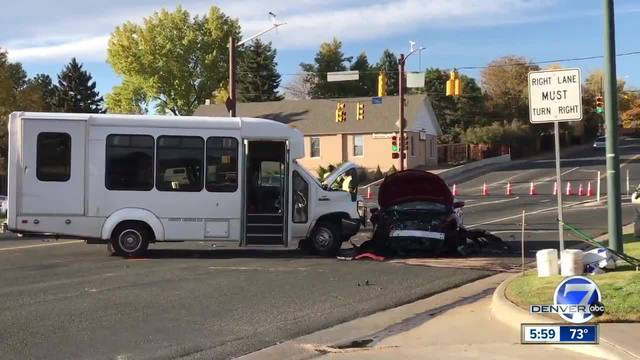 At least 1 dead in three-vehicle crash in Arvada