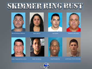 12 indicted in credit card skimming scheme