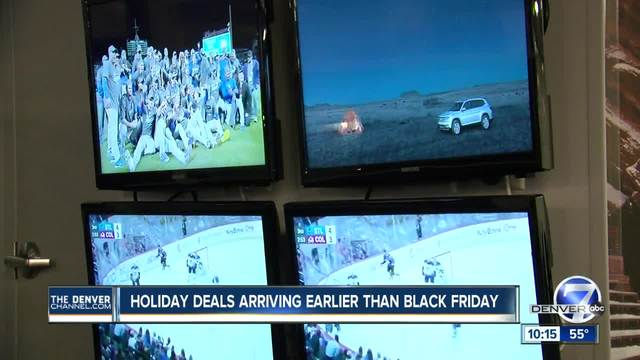Black Friday store deals will start early to compete with giant online retailers