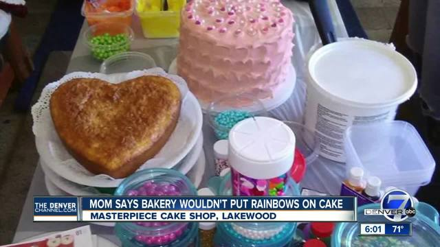 Mom says Masterpiece Cakeshop refused to put rainbows on daughter-s…