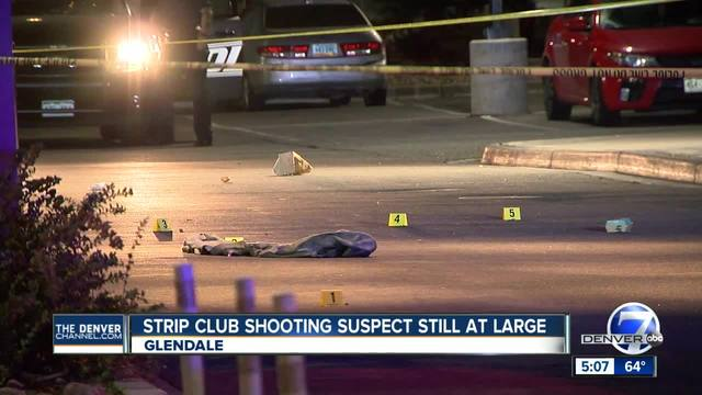 Shooting suspect at-large after firing weapon at Glendale strip club staff