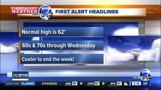 Another cold front rolls into Colorado