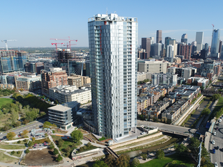 The Confluence apartment tower now open