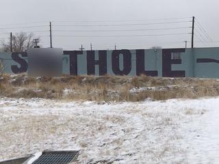 Anti-Trump 'Sh—hole' graffiti spotted in Denver