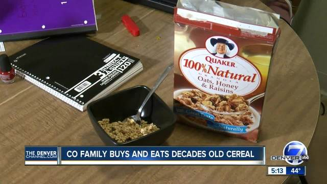 Family Eats Cereal With 1997 Expiration Date Bought From