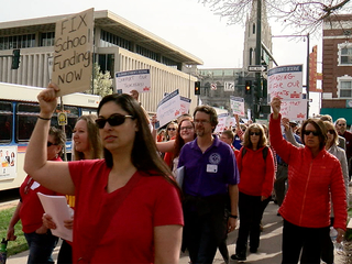 Bill would punish Colo. teachers with jail time