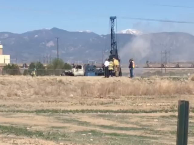 2 killed when drilling truck catches fire near Fountain power plant