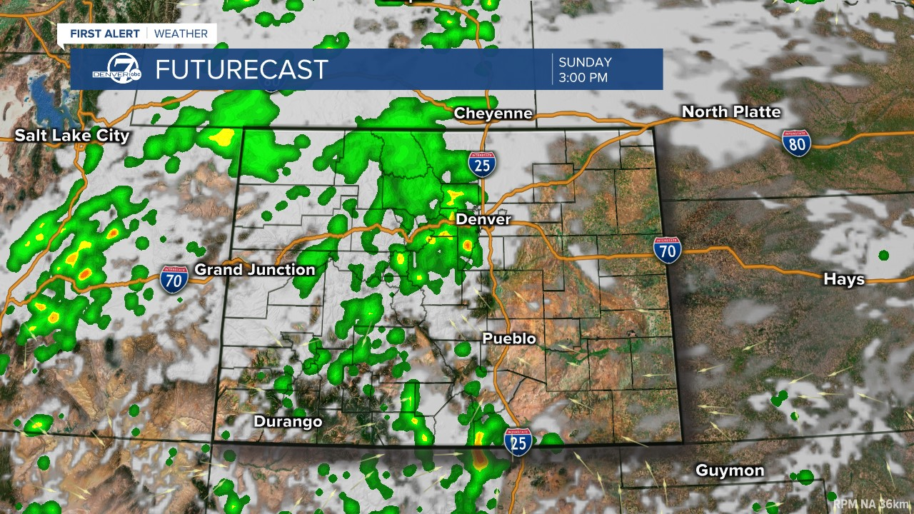 Futurecast: 3 p.m. today