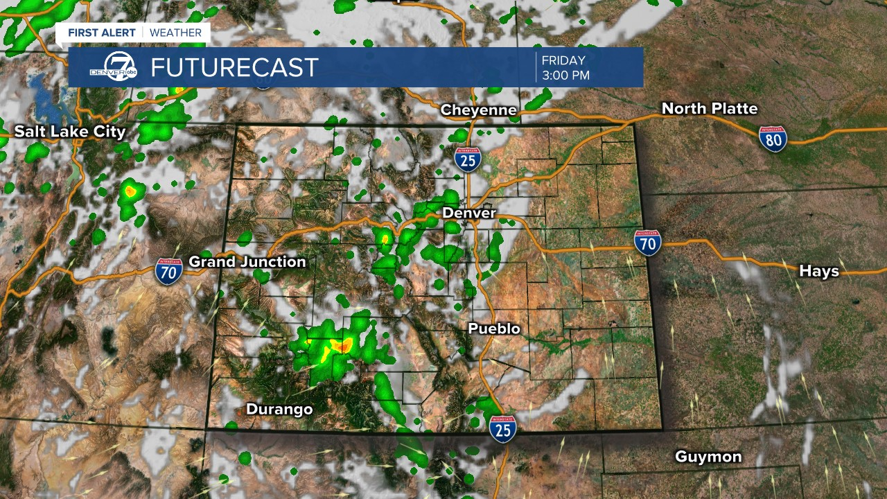 Futurecast: 3 p.m. tomorrow