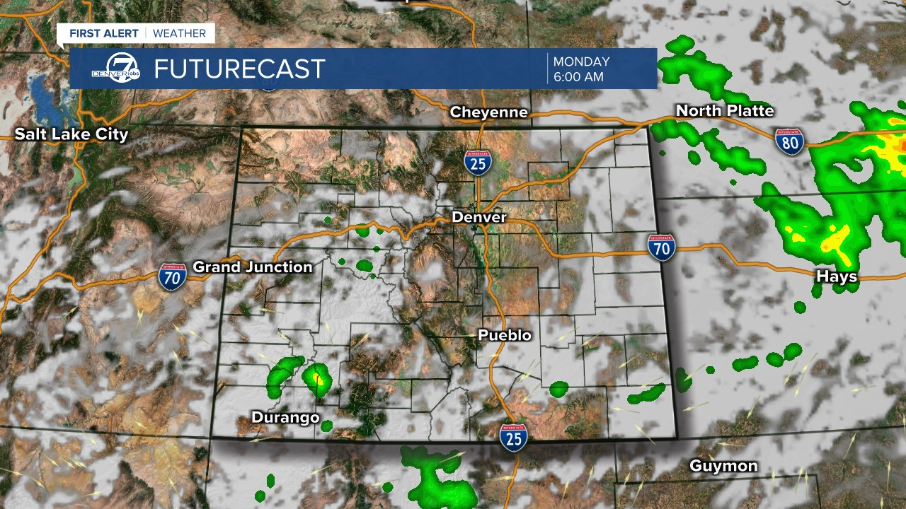 Futurecast: 6 a.m. tomorrow