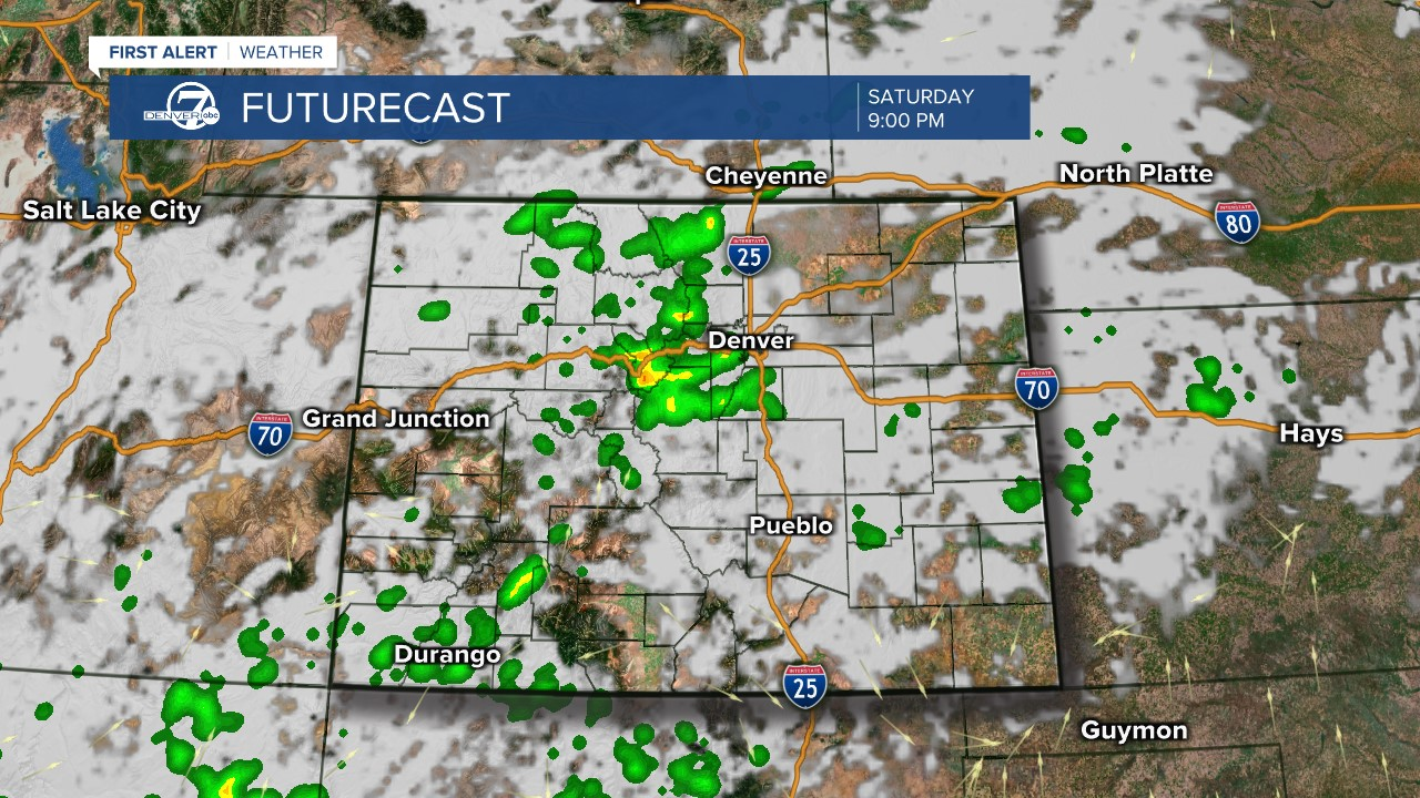 Futurecast: 9 p.m. today