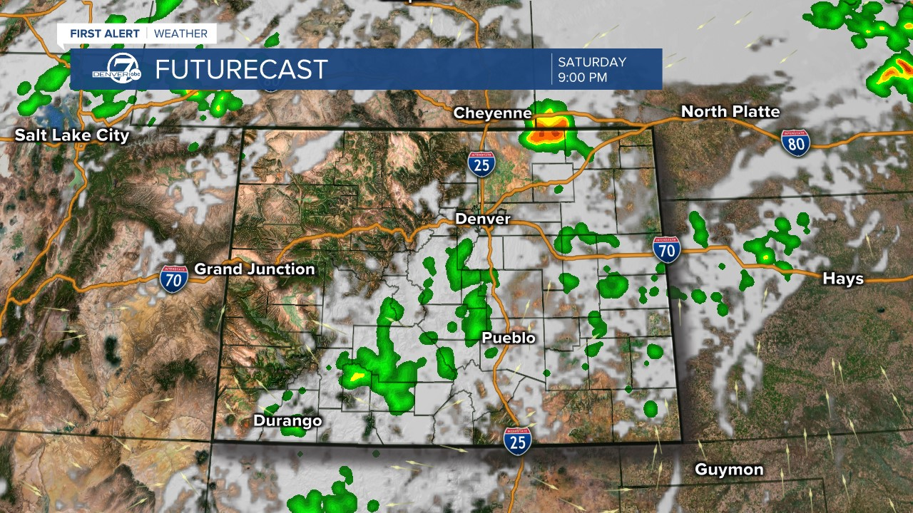 Futurecast: 9 p.m. tomorrow
